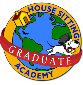 Housesitting Academy logo with drop shadow